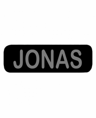 JONAS Patch Small (Black)