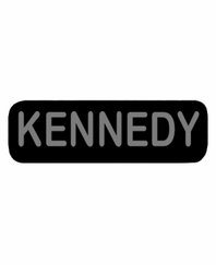 KENNEDY Patch Large Black