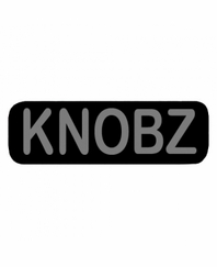 KNOBZ Patch Small Black