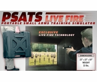 Laser Shot PSATS Portable Small Arms Training Simulator Package