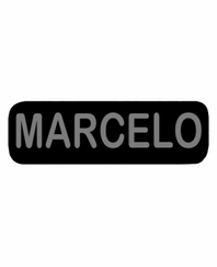 MARCELO Patch Small Black