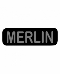 MERLIN Patch Small Black