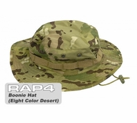 Military Boonie Hat (Eight Color Desert Camo) (Regular)