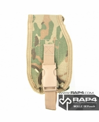 MOLLE Big Radio Pouch (Eight Color Desert Camo)