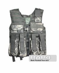 MOLLE Paintball Vest (ACU)