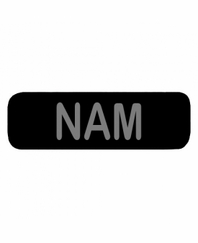 NAM Patch Large Black