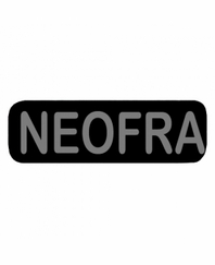 NEOFRA Patch Small Black