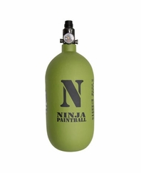Ninja Paintball Dura 77 ci 4500 psi Tank Olive Drab