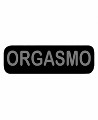 ORGASMO Patch Large Black