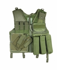 Paintball Vest CLEARANCE Olive Drab Regular Size