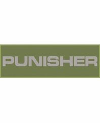 Punisher Patch Large (Olive Drab)