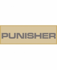 Punisher Patch Small (Tan)