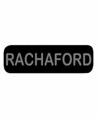 RACHAFORD Patch Small Black