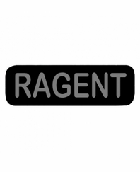 RAGENT Patch Small Black