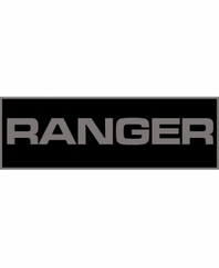 Ranger Patch Large (Black)