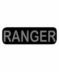RANGER Patch Small Black