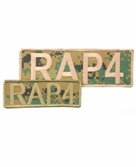 RAP4 Camo Patches (Front & Back) (Digital Camo)