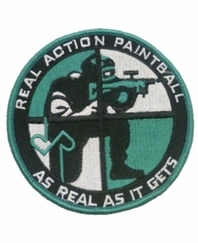 Real Action Paintball Patch