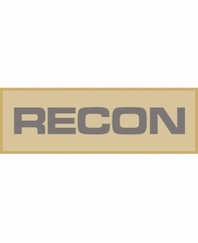 recon patch small tan