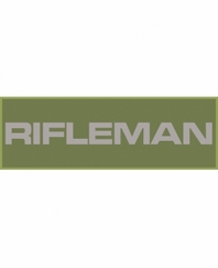 Rifleman Patch Large (Olive Drab)