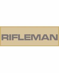 Rifleman Patch Small (Tan)