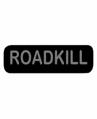ROADKILL Patch Small Black