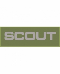 Scout Patch Large (Olive Drab)