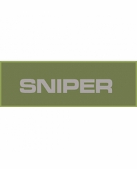 Sniper Patch Small (Olive Drab)