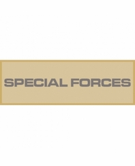 Special Forces Patch Large (Tan)