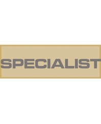 specialist patch small tan