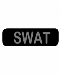 SWAT Patch Small Black