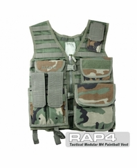 Tactical Modular M4 Paintball Vest