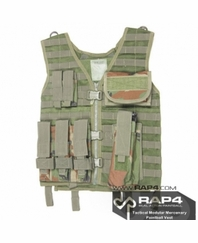 Tactical Modular Mercenary Paintball Vest