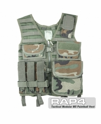 Tactical Modular MP5 Paintball Vest