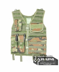 Tactical Modular Operator Paintball Vest
