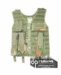 Tactical Modular Spartan Paintball Vest