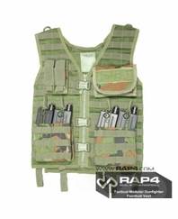 Tactical Molle Gunfighter Paintball Vest