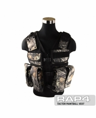 Tactical Ten Paintball Vest Oak Leaf - Regular Size