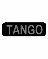 TANGO Patch Large Black