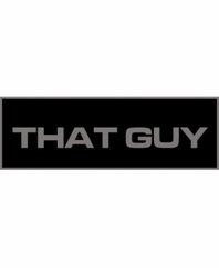 That Guy Patch Small (Black)