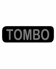 TOMBO Patch Small Black
