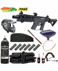 US Army Project Salvo Paintball Gun MEGA Set Deluxe