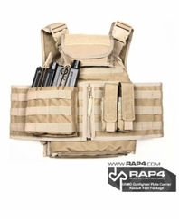 USMG Gunfighter Plate Carrier Assault Vest Package