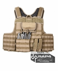 USMG Gunner Armor Vest Assault Package