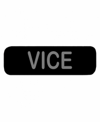 VICE Patch Small Black