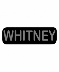 WHITNEY Patch Small Black