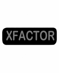 XFACTOR Patch Small Black