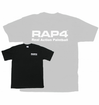 Youth Size RAP4 Black T-Shirt