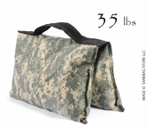 Filled Heavy Duty Saddle Sandbag 35lb Digital Camo