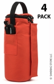 Canopy Sandbags� Orange 4 Pack